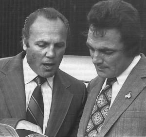 Len Silver & Peter Thorogood 1975