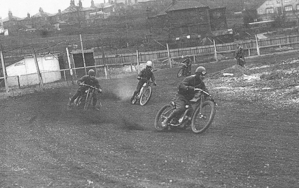 John Guntrip leads at Crayford 1936