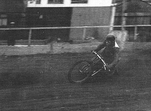 Unidentified rider at Crayford 1936